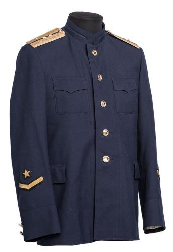 Soviet navy coat with mandarin collar, surplus