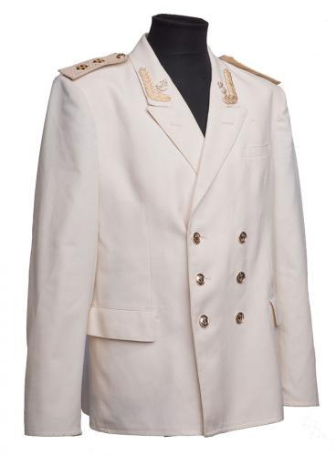 CCCP navy coat, white, Vice Admiral, 54-5