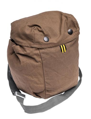 Finnish gas mask bag, cheapo model, surplus