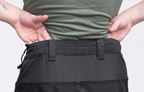 Särmä Outdoor Pants. Stretchy waist for use even without a belt