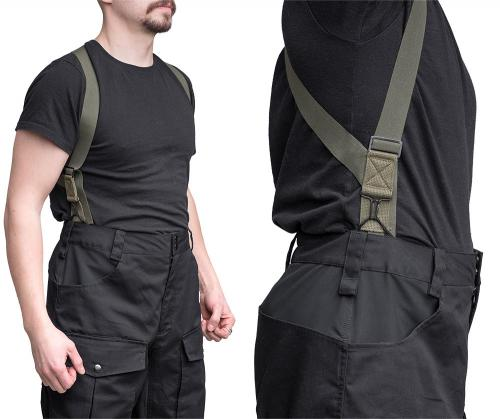 Särmä Outdoor Pants. M1950 hook suspenders are a practical and stylish accessory (sold separately of course)