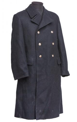 Russian navy greatcoat with detachable liner, surplus, 50-2
