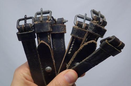 Wehrmacht/Czech general purpose straps, a bunch.