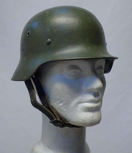 Finnish/German M35 steel helmet #1