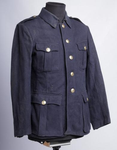 German / Finnish fireman's wool tunic #4