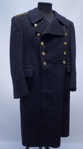 Soviet navy officer's greatcoat, Rear Admiral