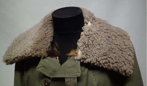 Swedish M1909 shearling coat #1.