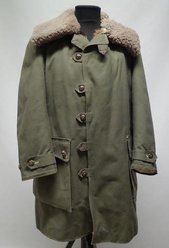 Swedish M1909 shearling coat #1