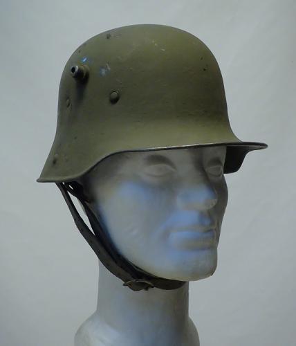 Finnish German M16 steel helmet #1