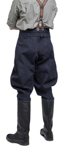 Soviet officer's breeches, dark blue #1.