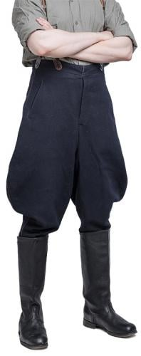 Soviet officer's breeches, dark blue #1