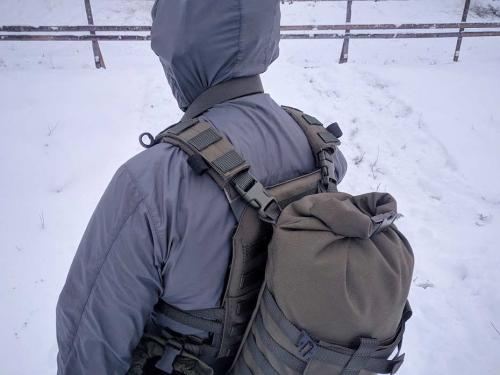 Särmä TST backpack use with plate carriers