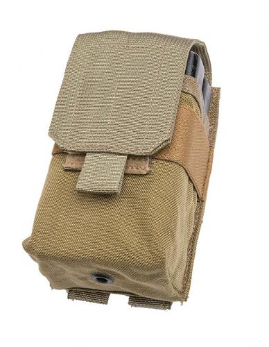 Eagle Industries  SCAR-H (MP1) Double Magazine Pouch, Coyote Brown, surplus