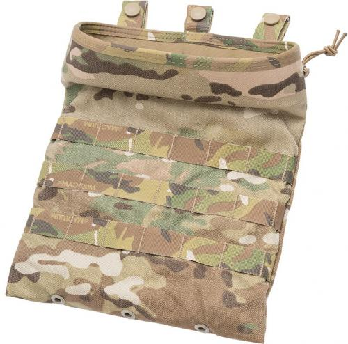 Eagle Industries MOLLE Multi Purpose Roll Up Dump Pouch, Multicam, surplus