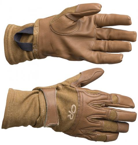 Outdoor Research Rockfall Gloves, Coyote Brown, surplus
