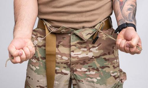 US FRACU Pants, OCP, surplus. Drawcord tightening at the waist.