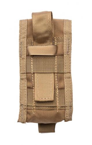 Paraclete Large Flash Bang Pouch, Coyote Brown, surplus.
