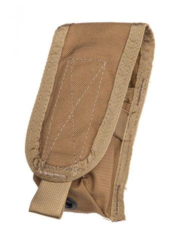 Paraclete Large Flash Bang Pouch, Coyote Brown, surplus