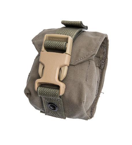 US MOLLE hand grenade pouch, Ranger Green, surplus