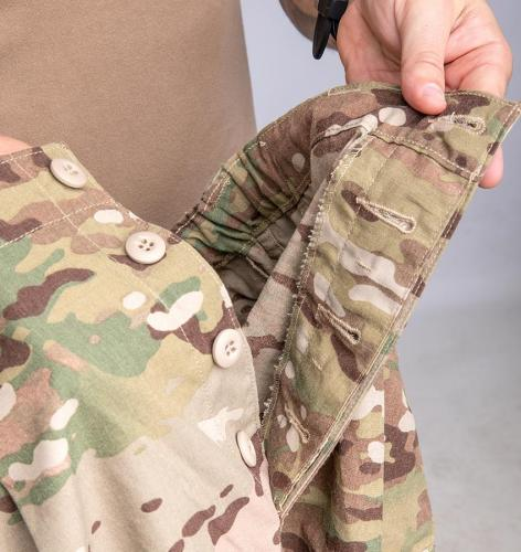 Propper FR Combat Ensemble Pants, Multicam, surplus. Button fly.