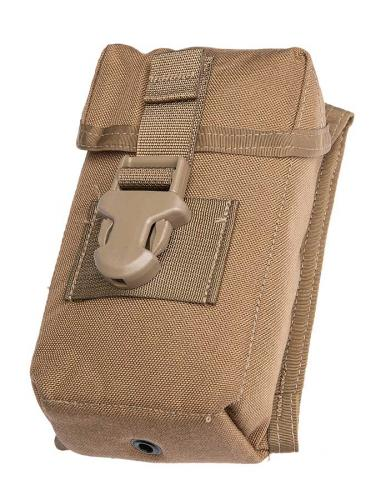 USMC MOLLE Optical Instrument Padded Case, coyote, surplus
