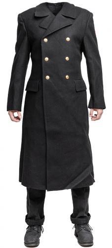 Russian cadet greatcoat, black, surplus