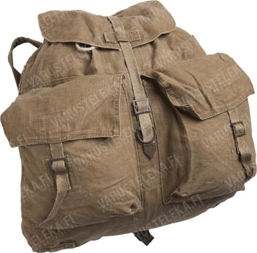 Czechoslovakian M60 backpack, with suspenders, brown, surplus