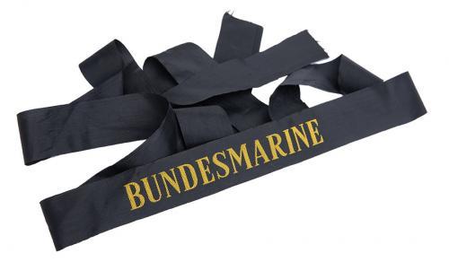 Bundesmarine hat ribbon, surplus