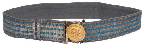 Finnish parade belt, officer model, surplus