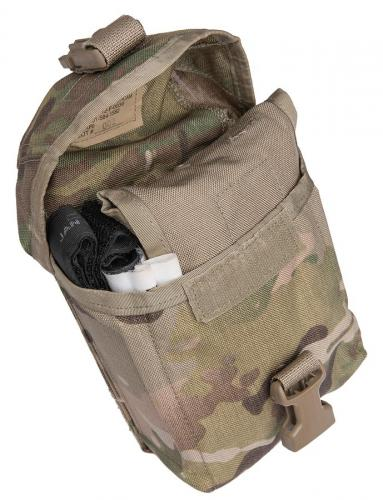 US IFAK insert, surplus. A rolled insert fits perfectly inside a US IFAk pouch (sold separately).