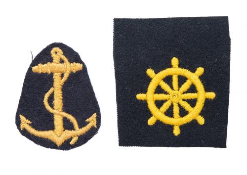 Finnish navy branch insignia, surplus