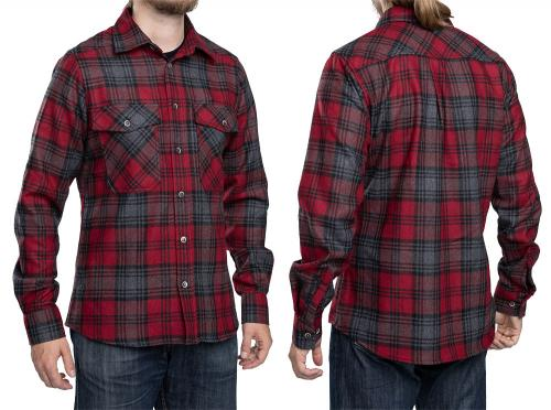 Särmä Wool Flannel Shirt. Model's measurements 175 / 100 cm, worn size Medium Regular.