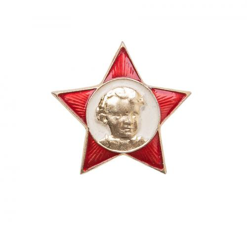 "Soviet badge, ""ugly child"", surplus"