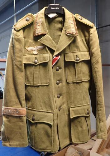 Wehrmacht DAK tunic, repro, used, Medium