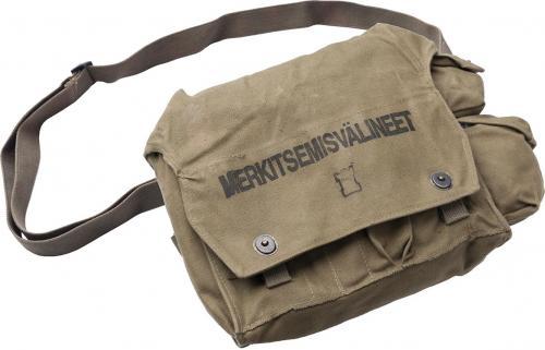 Finnish marking equipment bag, surplus