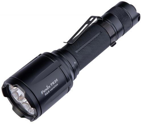 Fenix TK25 R&B Blue/Red Light flashlight