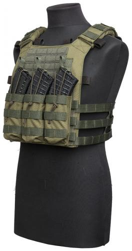 Särmä TST PC18 plate bags. Less minimalistic PC18 consisting of the plate bags, PALS cummerbund, 3xRK front panel and shoulder pads.
