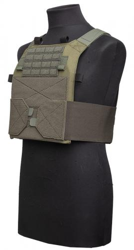Särmä TST PC18 plate bags. Minimalistic PC18 consisting of the plate bags and elastic cummerbund.
