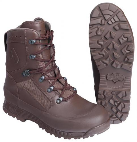Haix Boot Combat High Liability Female, brown, 2nd grade