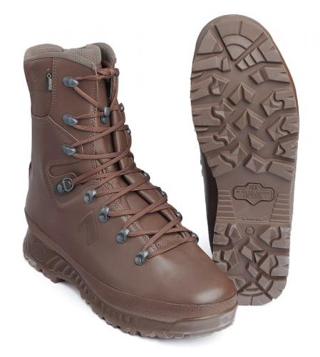 Haix Boot Cold Wet Weather, brown, B-stock