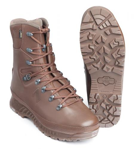 Haix Boot Cold Wet Weather Female, brown, B-stock