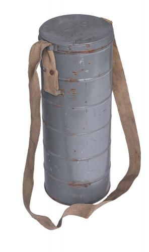 Belgian L.702 gas mask canister, surplus