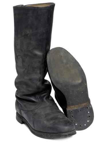 Soviet officer's field boots #8