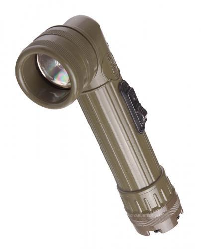 US angle head flashlight, MX991/U, surplus