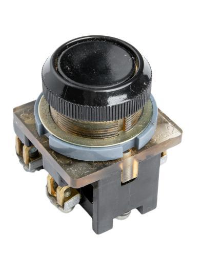 Soviet big black missile button switch, surplus
