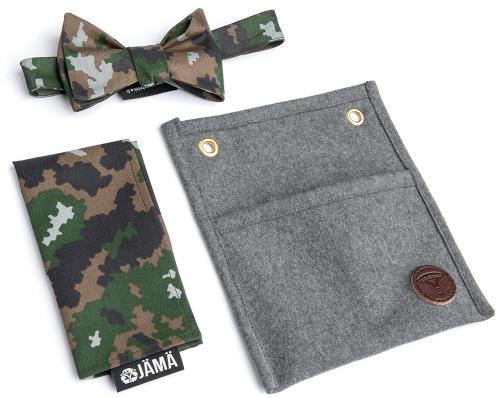 Jämä Bow Tie & Handkerchief set