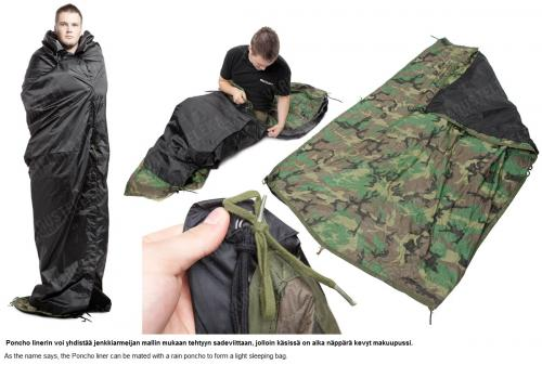 "Dutch ""Woobie"" Poncho liner, surplus. Pictured is the US Army poncho liner, but you get the idea."