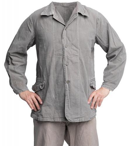 Swedish work jacket, gray, surplus