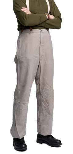Swedish work trousers, gray, surplus