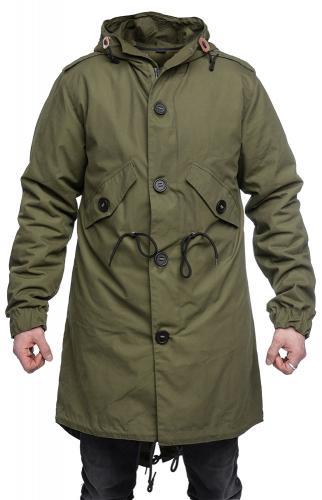 Fishtail Parka Coat